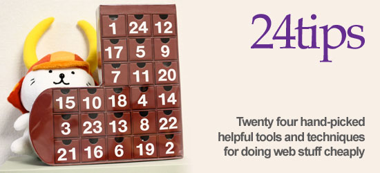 24 helpful tools and techniques for doing web stuff cheaply