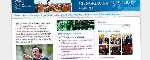 UK Nordic Baltic Summit