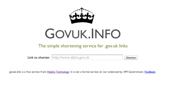 govuk.info shURLy demo