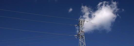 cloud and pylon