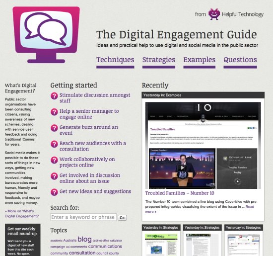 Digital Engagement Guide